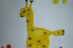 «Ручной жирафчик» Круглова Ульяна 4 года