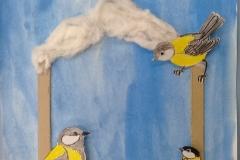 """ Покормите птиц"" Коллективная работа"