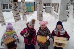 """Покормите птиц зимой"" Средняя группа  ""Солнышко"""