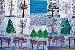 «Зимний лес» Коллектив кружка «Разноцветная палитра» 4-6 лет