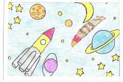 Я рисую космос